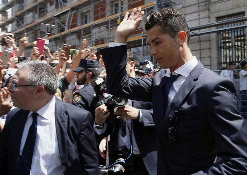 Cristiano Ronaldo se niega al pacto económico con Hacienda