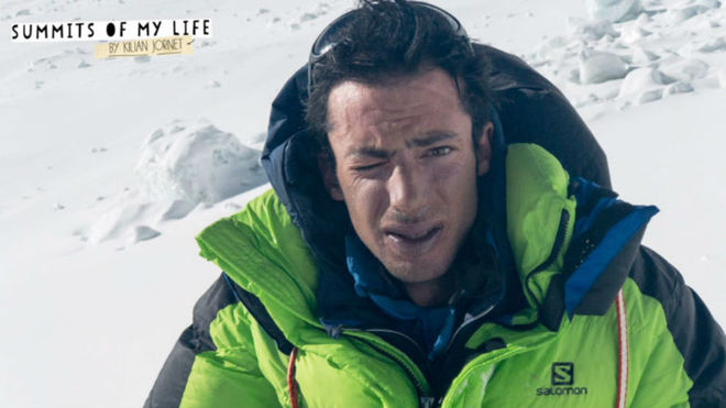 Kilian Jornet, en el Everest. Imagen de su blog, Summits of my Life