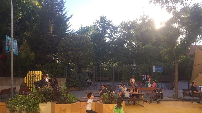 Calle galileo contaminaci n o jardines el conflicto por for Jardines galileo
