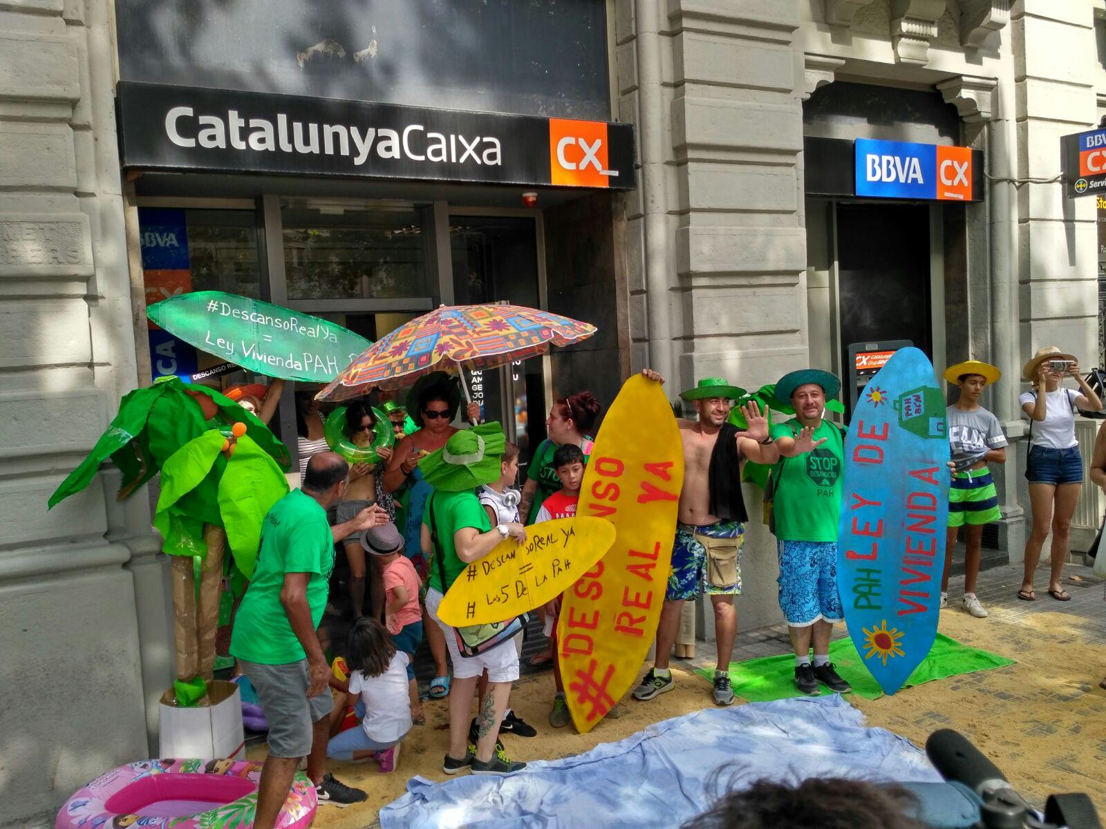 En el segundo trimestre se iniciaron ejecuciones for Caixa de catalunya oficinas
