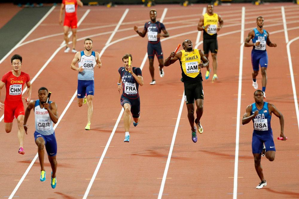 2f6cda878b Doloroso adiós para Bolt: se lesiona en el 4x100 y no logra acabar su  última carrera