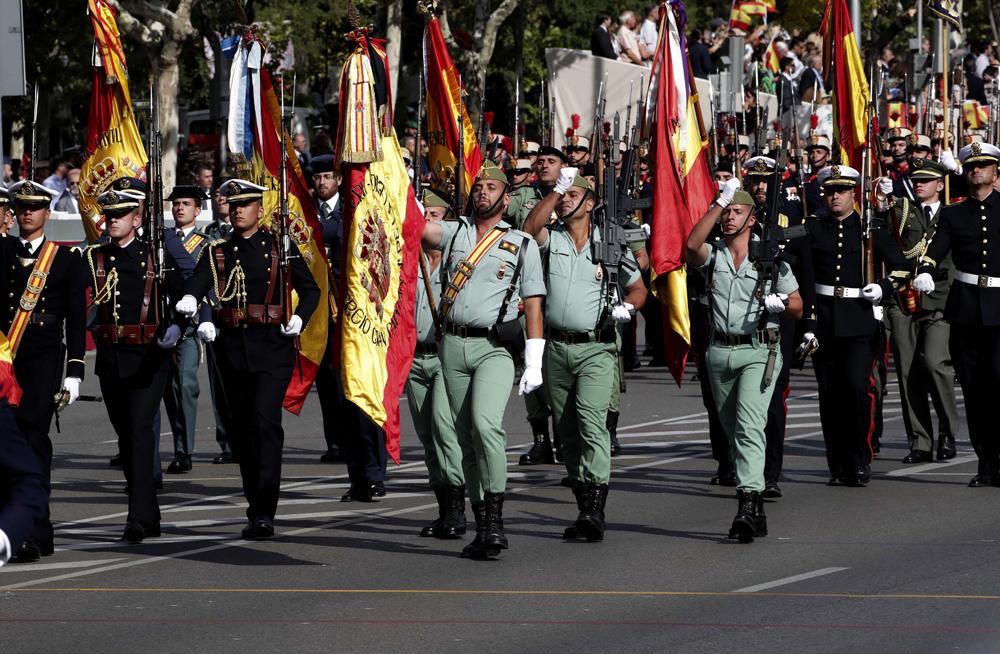 Resultado de imagen de 12 de octubre dia de la hispanidad, desfile