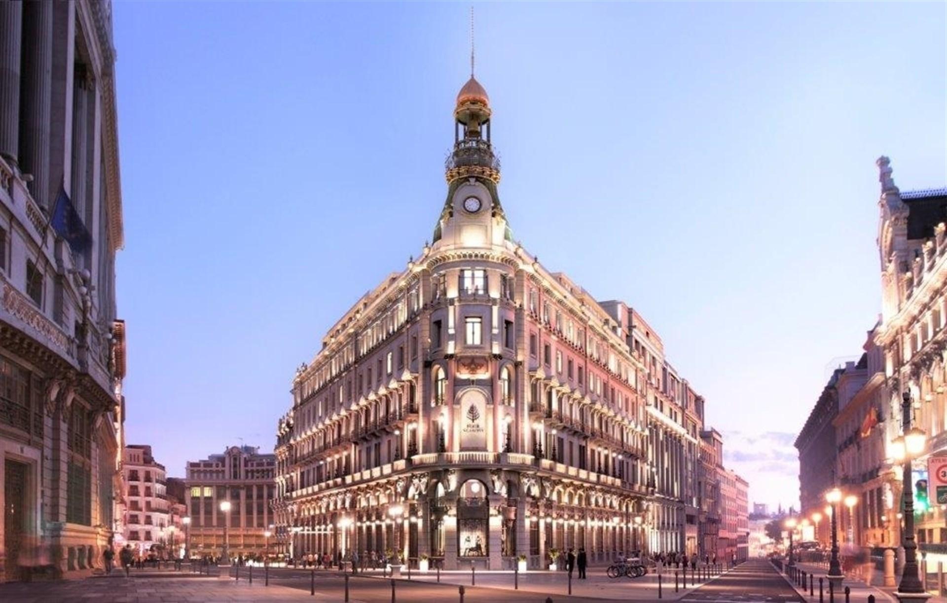 Ohl planea abrir en 2019 el centro canalejas de madrid for Edificio puerta real madrid