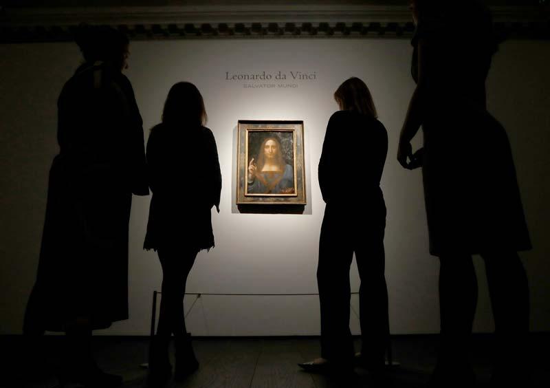 Subasta en Christie\'s: El cuadro más caro de la historia: un Da ...
