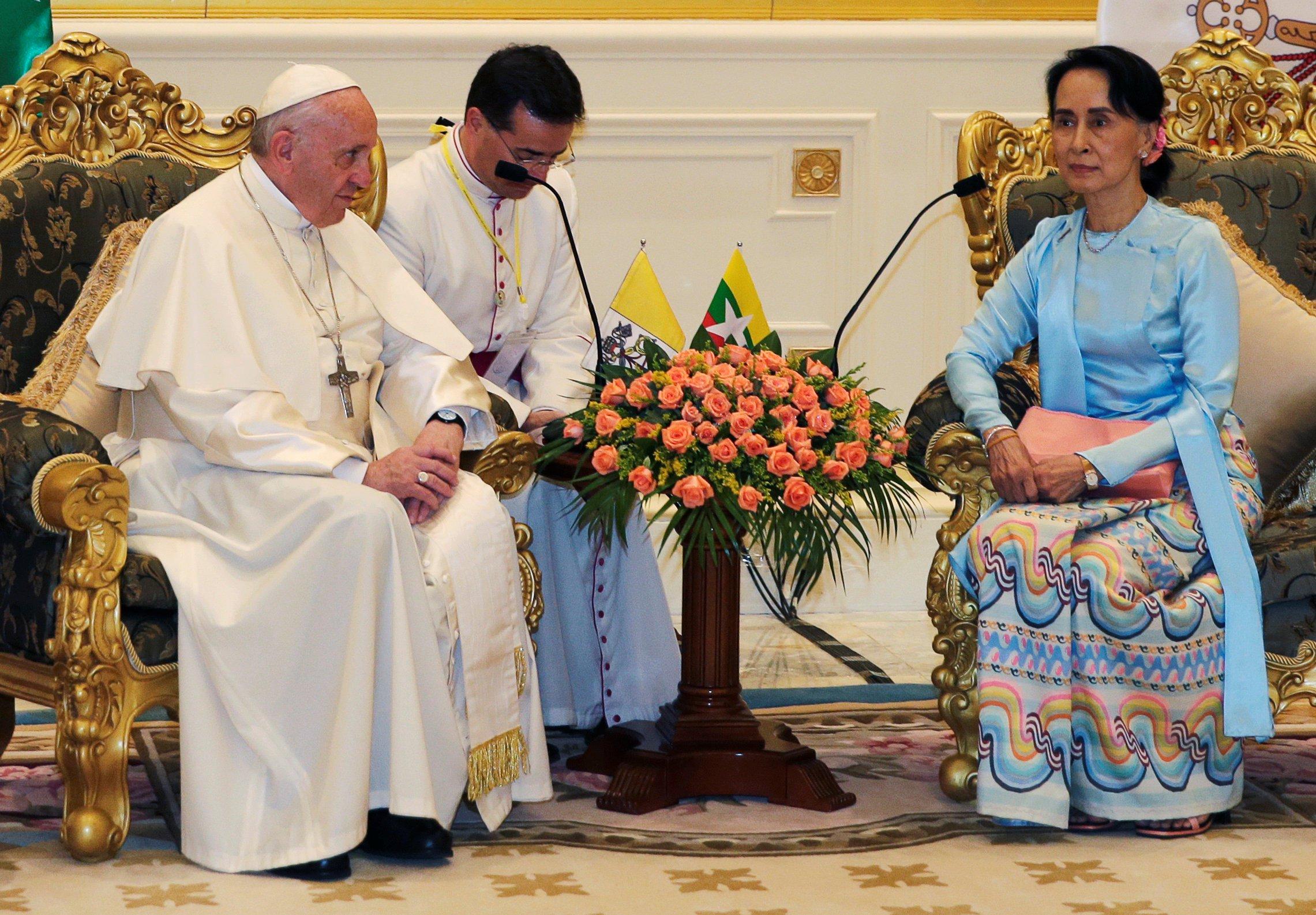 El Papa en Myammar