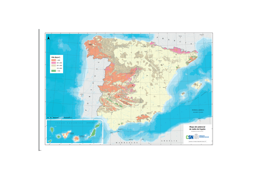 Mapa Del Radon En Espana.Gas Radon El Gobierno Obvia Una Ley Obligatoria Sobre Un Gas Radiactivo Y Letal En Las Viviendas Publico
