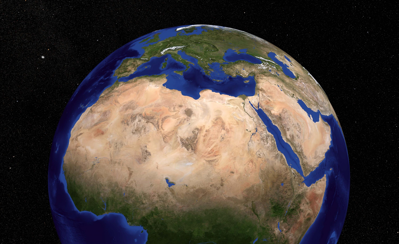 Desierto Del Sahara Mapa.Cambio Climatico La Superficie Del Desierto Del Sahara Ha
