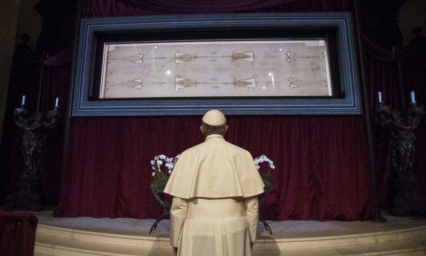 Resultado de imagen de sabana santa papa