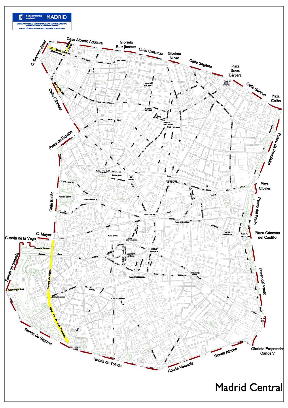 Restricciones Tráfico Madrid Mapa.Restricciones Al Trafico Madrid Central Que Debes Saber