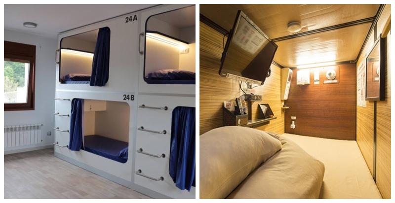 035a0d6d6ff6 Una empresa ofrece  pisos  de alquiler de tres metros cuadrados por 250  euros al mes.