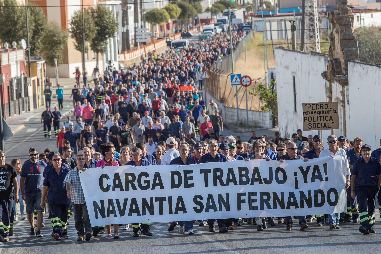 Crisis en Navantia: Vender armas para la guerra o perder los empleos ...