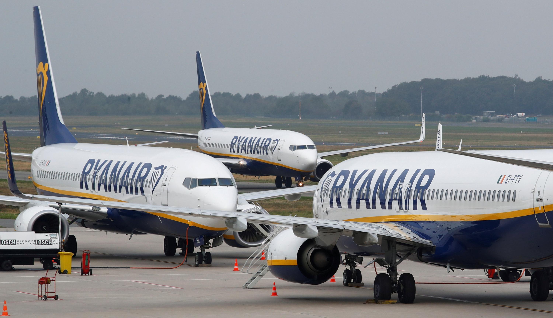 8e85d793a Aviones de Ryanair en el aeropuerto de Weeze (Alemania), en una imagen de  archivo. / REUTERS - WOLFGANG RATTAY