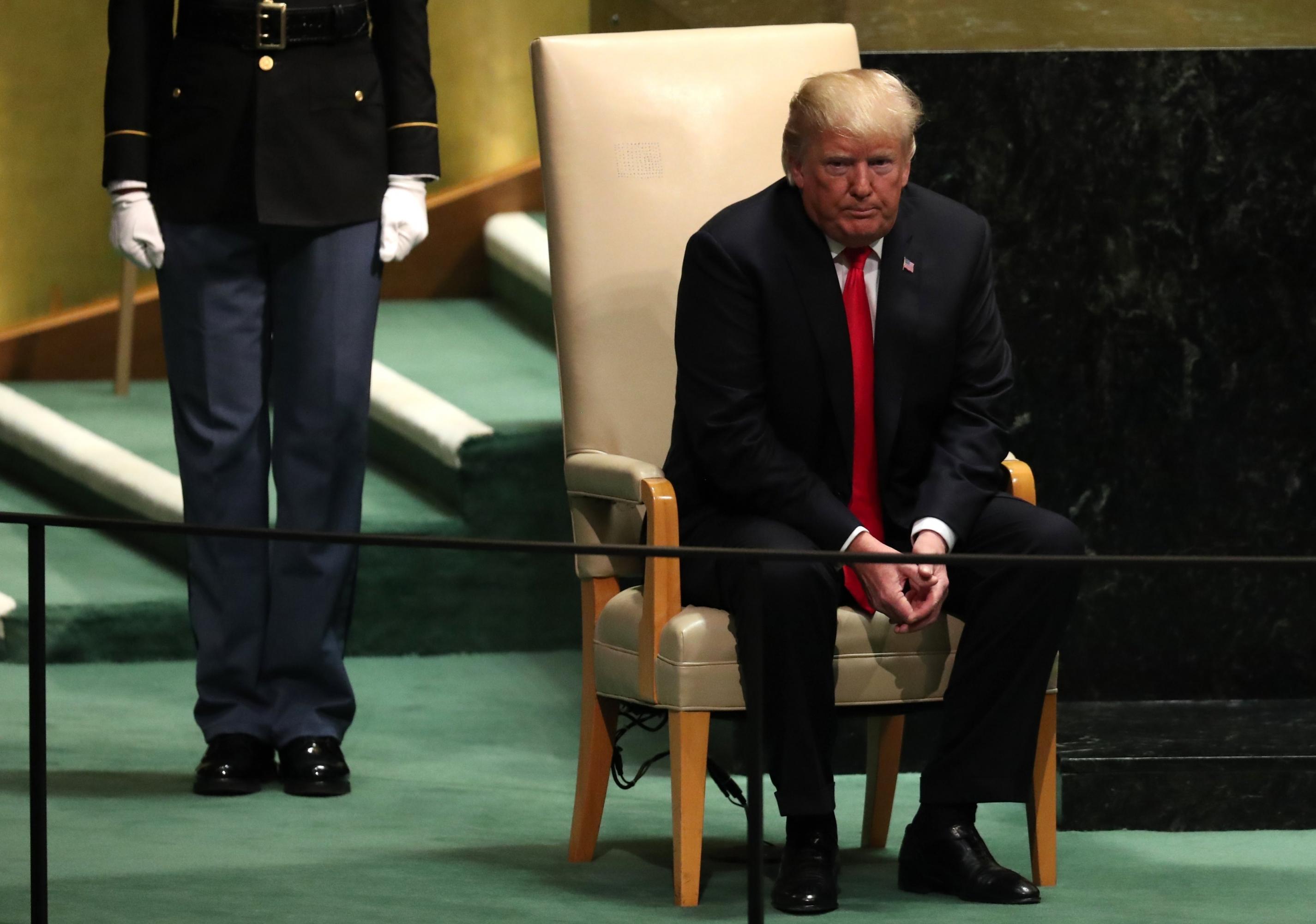 Donald Trump Trump Provoca Risas En La Onu Con Una