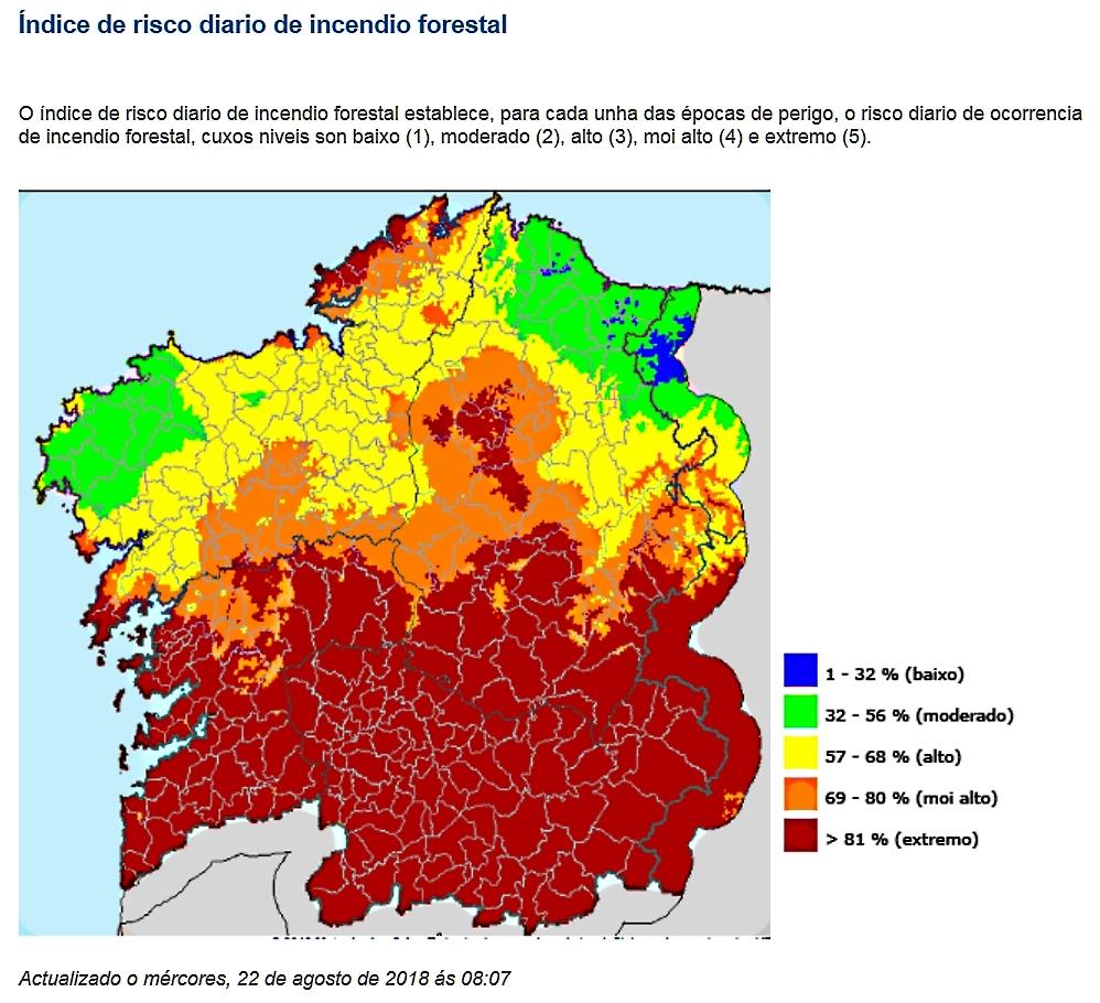 Incendios En Galicia Galicia Recuerda La Tragica Oleada De