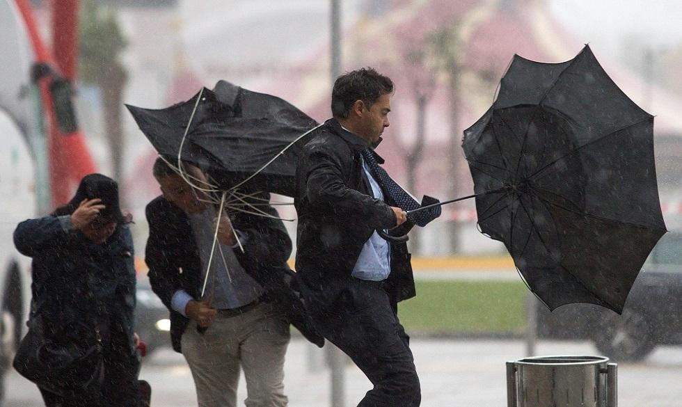 La Aemet Amplia El Aviso Rojo En Málaga Por El Temporal De Lluvias Público