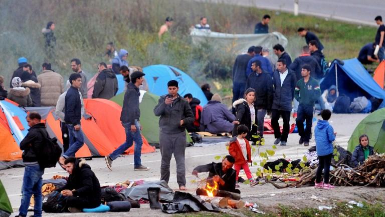 Resultado de imagen de Inmigrantes Serbia frontera Bosnia