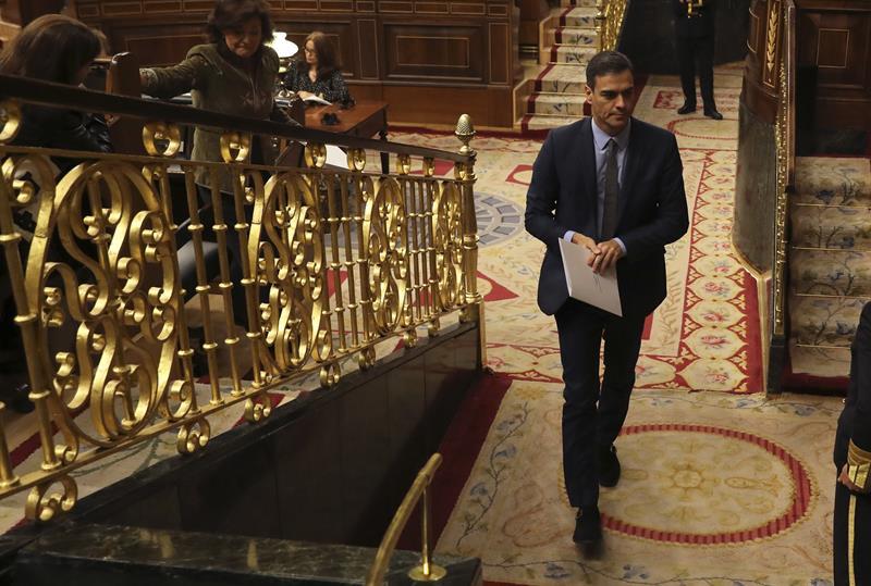 8fc9b2c5c9 Presupuestos 2019  Sánchez se plantea no presentar los Presupuestos ...