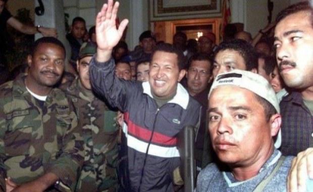 Resultado de imagen de golpe de estado en venezuela año 2002