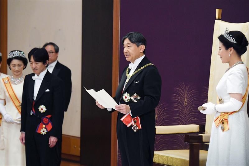 Japón: El Emperador Naruhito Inaugura Su Mandato Con Un