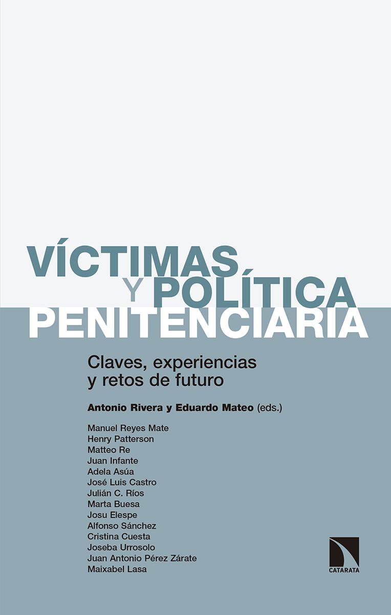 Portada Libro Víctimas y Política Penitenciaria
