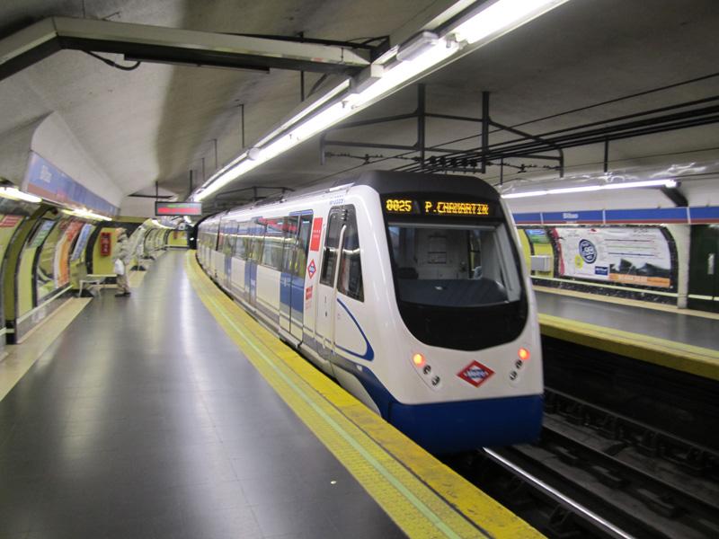 Resultado de imagen de metro madrid tren