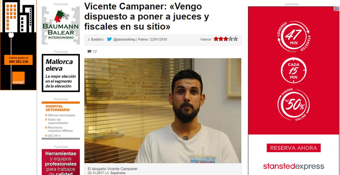 La mafia de Cursach impulsa una campaña de prensa para invalidar la instrucción del caso