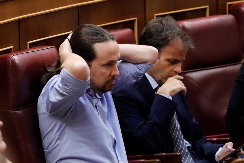 Investidura Directo Irene Montero Votó No A Sánchez