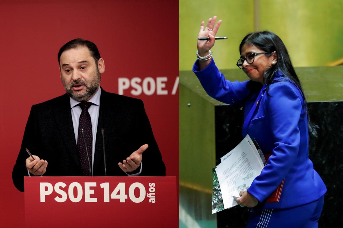 Delcy Rodríguez: Las claves del encuentro entre Ábalos y la ...