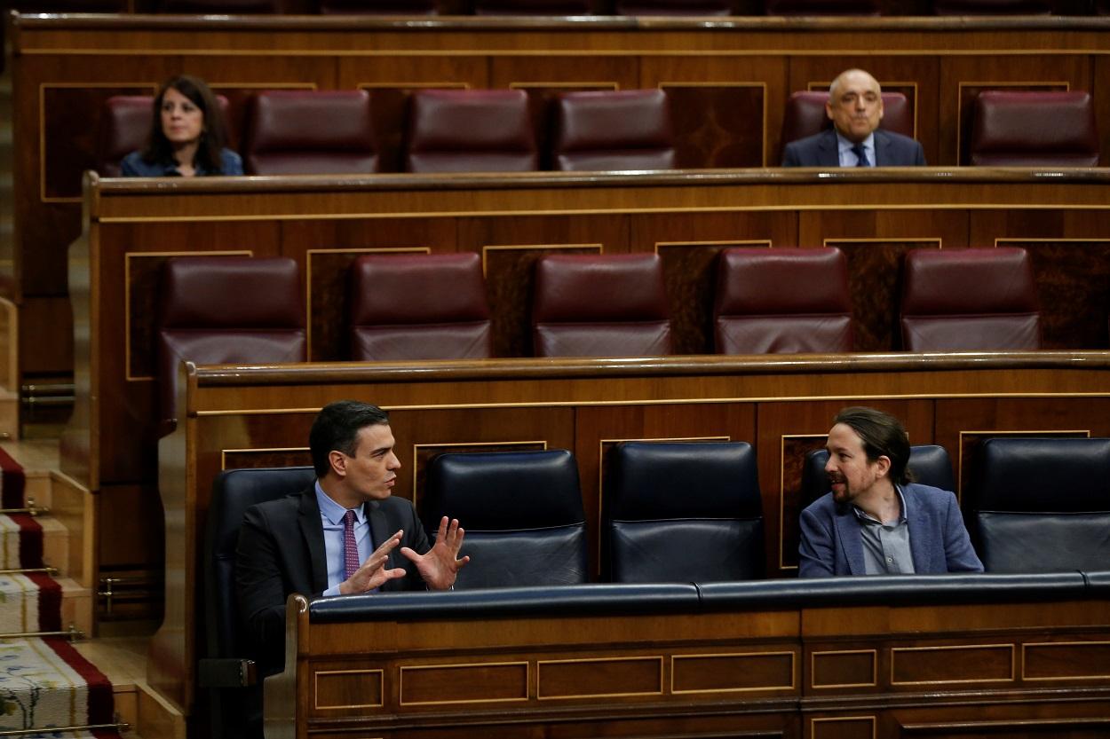El Gobierno de coalición: Desahucios, Presupuestos y fondos covid: Iglesias arrastra a Sánchez a sus posiciones