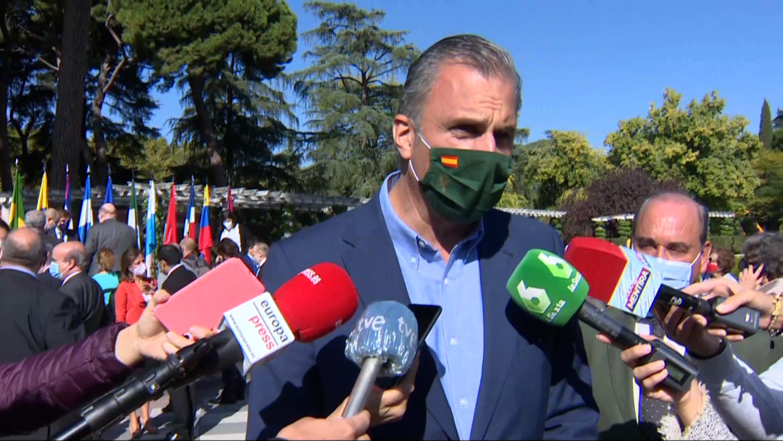 """Ortega Smith: """"Yo no condeno expresamente el franquismo"""""""