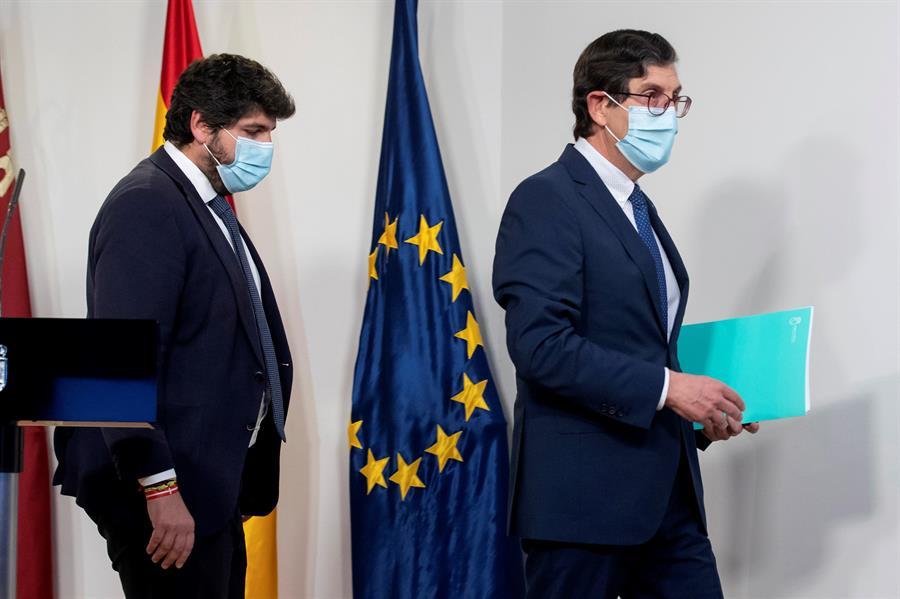 La Fiscalía de Murcia abre diligencias de investigación para aclarar si hay delito penal en las vacunaciones irregulares