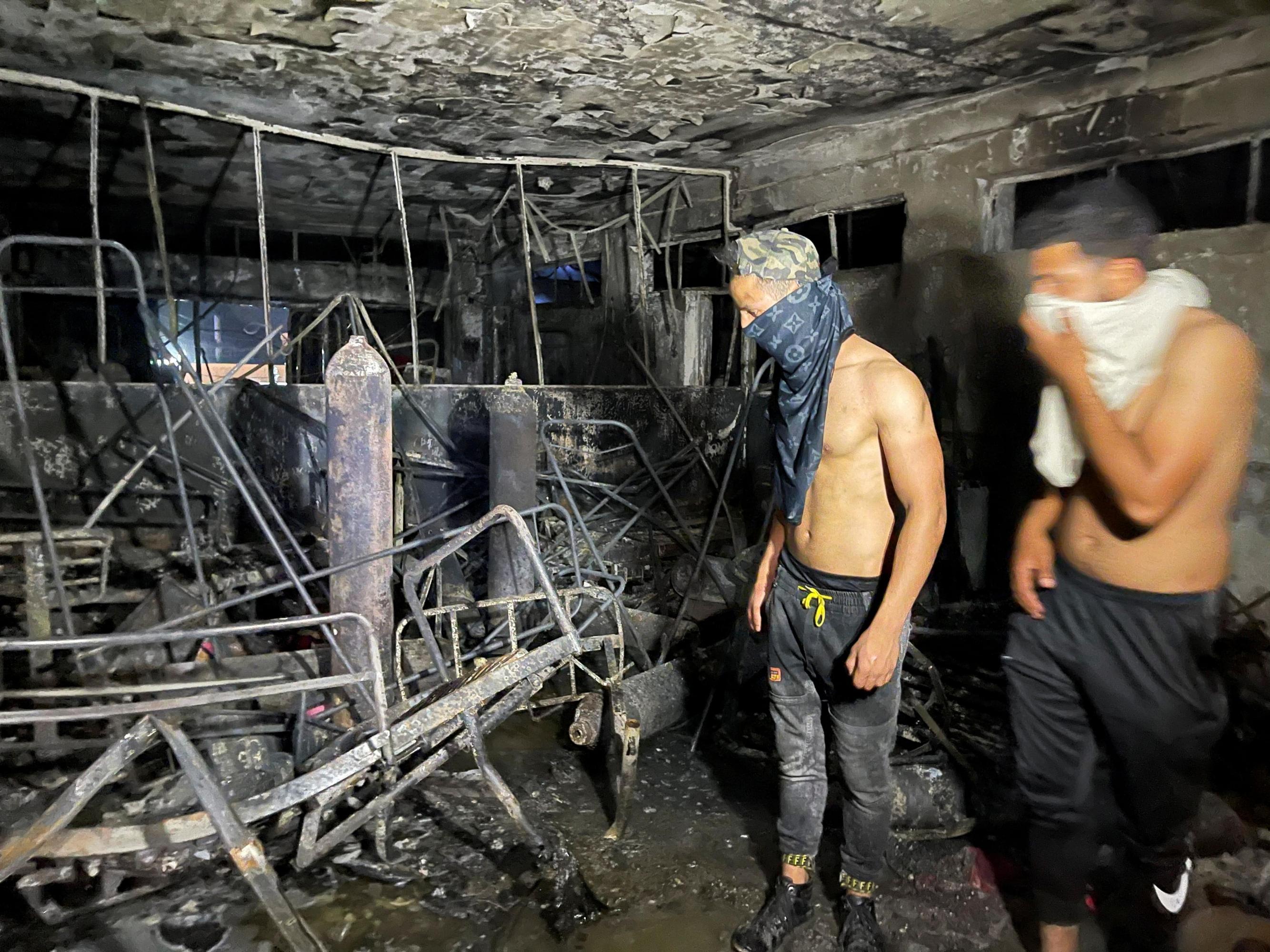 Incendio hospital Irak: Al menos 82 personas mueren en el incendio de un  hospital para pacientes de covid en Irak | Público
