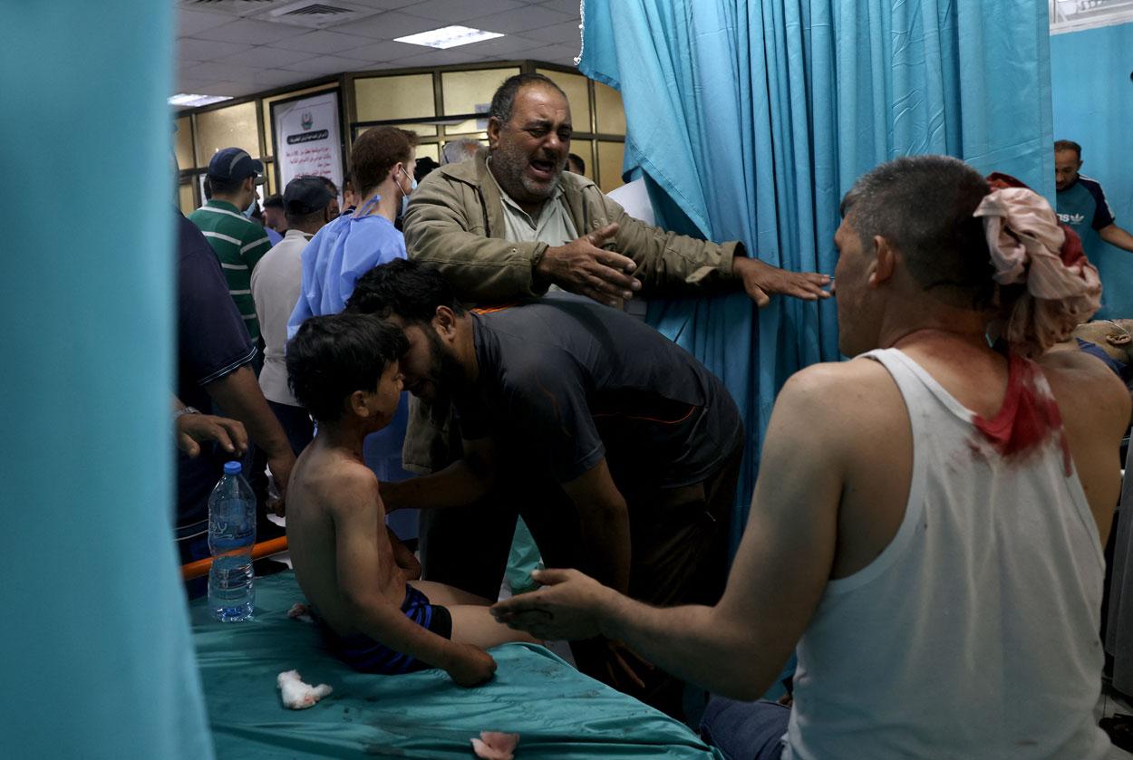 Israel: Tras las protestas de las últimas semanas contra la brutal  ocupación militar israelí, el ejército confirmó bombardeos de represalia en  la Franja y varios ataques selectivos contra milicianos y objetivos del
