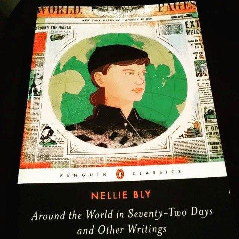"""Fotografía del libro """"Nellie Bly: La vuelta al mundo en 72 días y Otros Escritos"""""""
