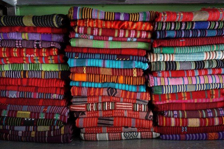 Los tais son tejidos creados exclusivamente por las mujeres timorenses