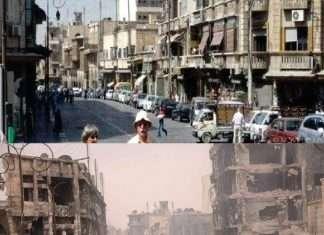 Cómo era Alepo antes de la guerra Olympia restaurant