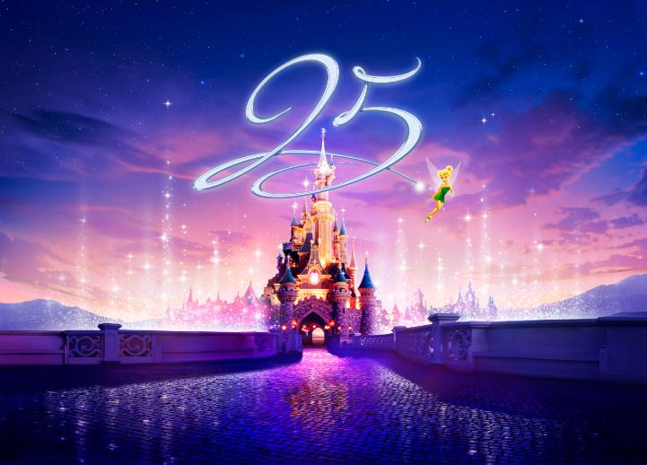 25 aniversario de Disneyland Paris