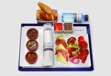 Diez cosas que no sabías de la comida de los aviones