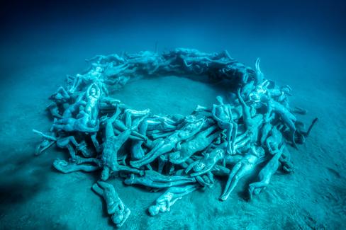 El primer museo submarino del mundo en Lanzarote