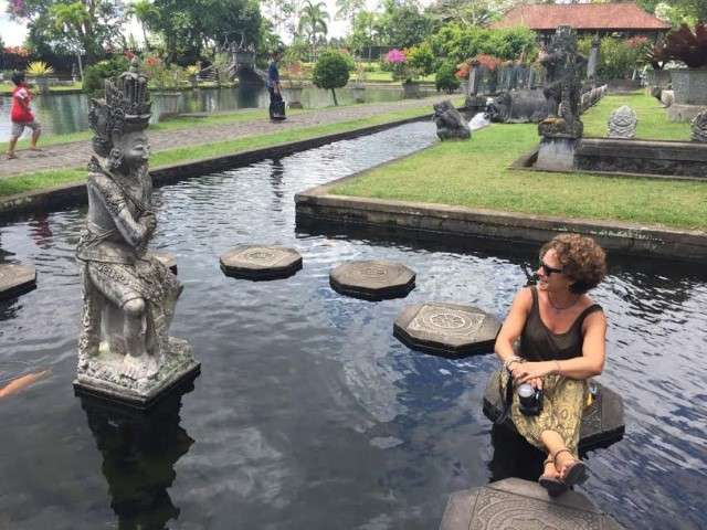 Lorena en Bali (Indonesia)