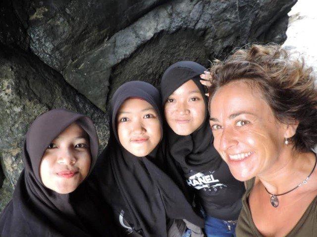 Lorena en Lombok (Indonesia)