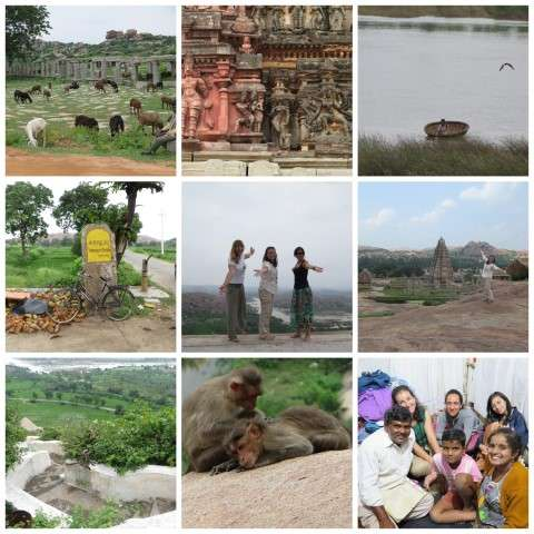 Aventuras de Rocío por Hampi (Karnataka, India)