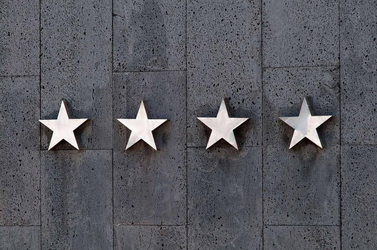 Estrellas en un hotel