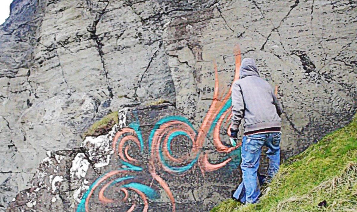 Maravillas naturales destruidas por turistas idiotas
