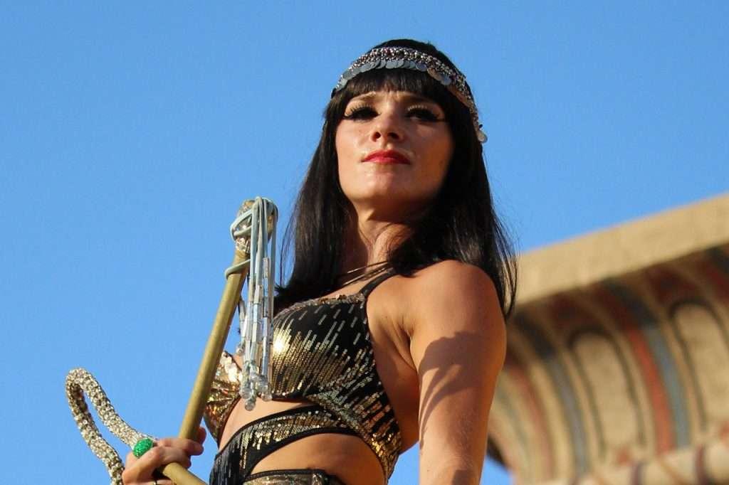 Espectáculo Cleopatra Terra Mítica