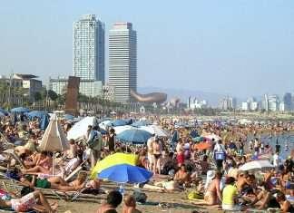 Las playas más masificadas de España