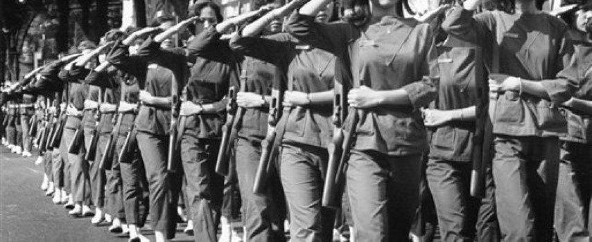 Mujeres militares en Vietnam. Fuente: Culturextourism