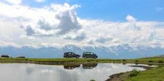 Rutas vehículo por naturaleza