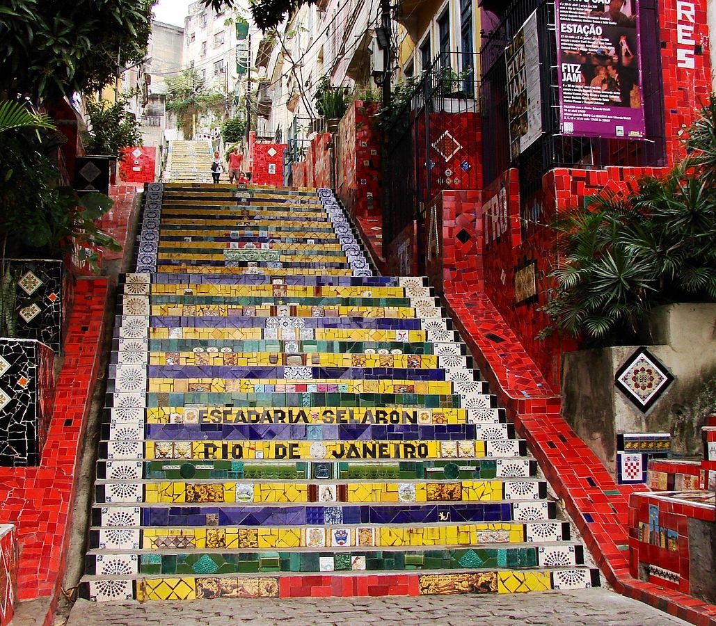 Escalera Selaron - Foto de Marshallhenrie