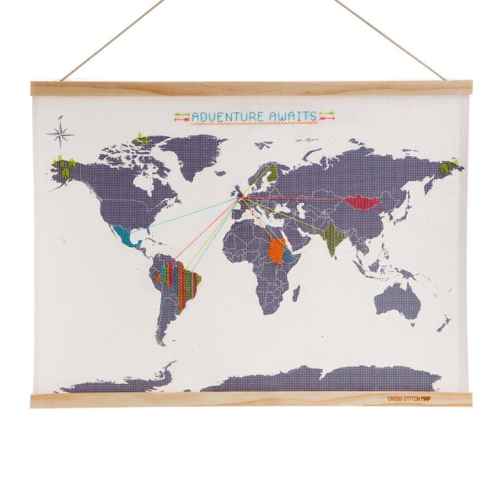 Mapa Para Marcar Viajes.Mapas Para Rascar Y Otros Regalos Para Recordar Tus Viajes